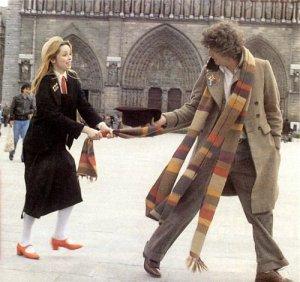 Il quarto Dottore e Romana (II). Romana essendo Time Lady può rigenerare e durante la sua presenza nello show lo ha fatto in una maniera bizzarra