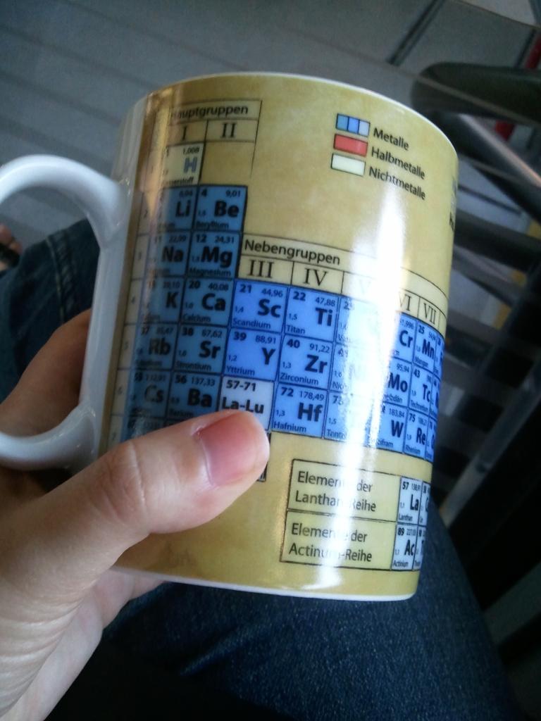 Eheheheehehehe ci sono i nomi degli elementi in tedesco *____* (nerd mode ON)